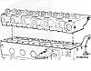 Установка головки блока цилиндров Cummins B3.9, B4.5, B5.9