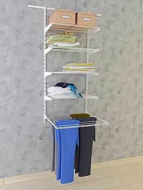 Гардеробная система. Система хранения (консоль, стеллаж) 600-15-002. ТМ Кольчуга (Kolchuga), фото 2