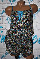 Комплекты майка + шорты, комбинезоны