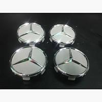 Оригинальные колпачки заглушки дисков Мерседес Спринтер 2006+ (4 шт)