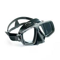 Маска для плавания AquaLung Look; чёрная Аквалунг лук