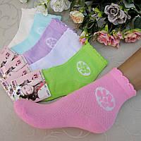 """Носки для девочек АЖУР, M(26-31 р/р.) """"Алия"""". Детские  носки, летние носочки для девочек"""