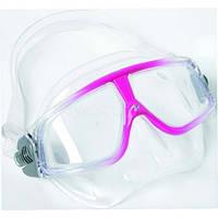 Маска для снорклинга AquaLung Sphera LX; прозрачно-фиолетовая Аквалунг сфера
