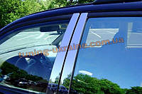 Молдинги дверных стоек Omsa на Honda CR-V 2002-2006