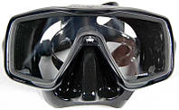 Маска для дайвинга Technisub Ventura Plus; чёрная Технисаб вентура плюс