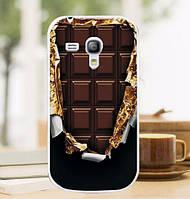 Силиконовый чехол бампер с рисунком для Samsung S3 mini Galaxy i8190