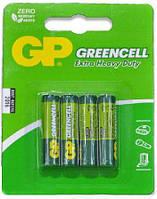 Батарейка GP Greencell 1.5V R03 24G-2UE4, AAA солевая