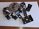 Запчасти к легковым прицепам - ось и ступица прицепа, крепления рессоры, цапфа оси, фото 2