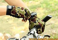 Тактические перчатки без пальцев 5.11 Камуфляж (безпалые, безпалки) L