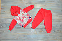 Костюм спортивный на девочку (68 см, 74 см) - 74 см  Сакура, Турция, Zvezda kids, на пол года, на день рождени