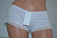Трусики-шорты Lemila 95% COTTON белые