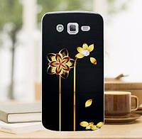 Силиконовый чехол бампер с рисунком для Samsung S3 Galaxy I9300