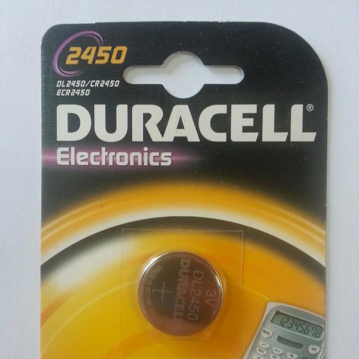 Дисковая батарейка DURACELL Lithium Cell 3V  DL2450 (C1)