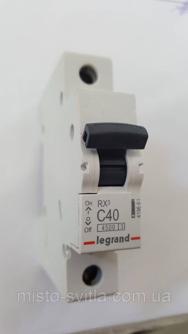 Автоматичний вимикач RX3 63А 1п C 4,5 кА Legrand Легранд автомат