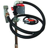 Насос для перекачки и заправки (раздачи) дизельного топлива из бочки или бака PTP24В, 40 л/мин, фото 1