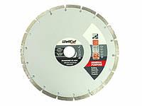 Диск алмазный Wellcut Promo 230мм*7мм*22,23мм Сегмент