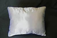 Подушка прямоугольник кант синий