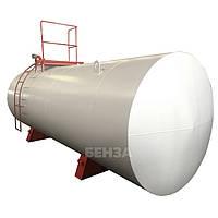 Резервуары для хранения нефтепродуктов, одностенный