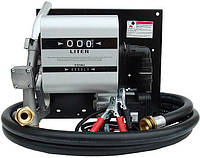 Топливораздаточная колонка заправки дизельного топлива с расходомером WALL TECH 40, 220В, 40 л/мин, фото 1
