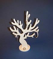 Дерево для украшений , пожеланий, декора (белое)