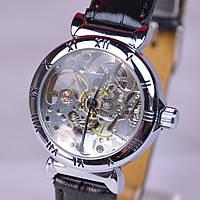 Женские механические часы Слава (скелетоны)