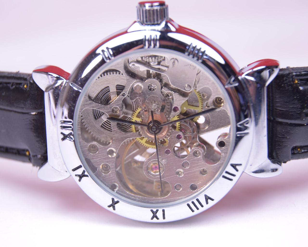 Женские механические часы Слава (скелетоны), фото 1