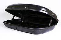 Багажный бокс Десна-Авто 320л черный, одностороннее открывание, фото 1