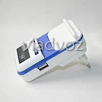 Универсальное зарядное для аккумуляторов с USB с индикацией заряда