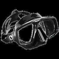 Маска для дайвинга AquaLung Look HD; чёрная Аквалунг лук ХД