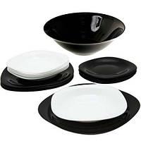 Сервиз столовый Luminarc Carine Black&White 19 предметов