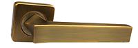 Ручка дверная на розетке Armadillo Corsica матовая бронза (Китай)