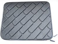 Качественный чехол планшет противоударный чёрный 26 x 21 x 2 см.  от 10-12 дюймов