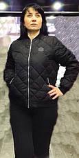 Демисезонная стеганная женская куртка на синтепоне, р 46-56., фото 3