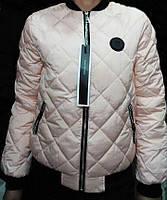 Демисезонная стеганная женская куртка на синтепоне, р 46-56.