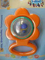 Погремушка мишка canpol зелёный 2/607