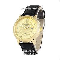 Часы Patek Philippe quartz 8610-1 Black-Gold-Gold