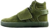 Мужские кроссовки Adidas Tubular Invader Strap Green