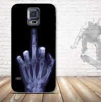 Силиконовый чехол бампер с рисунком для Samsung S5 mini Galaxy G800h