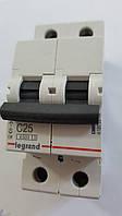 Автоматический выключатель RX3 4,5кА 25А 2п C (автомат) Legrand Легранд