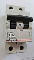 Автоматический выключатель RX3 4,5кА 32А 2п C (автомат) Legrand Легранд