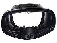Подводная маска с клапаном AquaLung Pacifica II; чёрная Аквалунг пацифика 2
