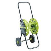 Тележка для шланга с колёсами зелёная 1/2'45м. (PS-3301G)