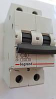 Автоматический выключатель RX3 4,5кА 40А 2п C (автомат) Legrand Легранд