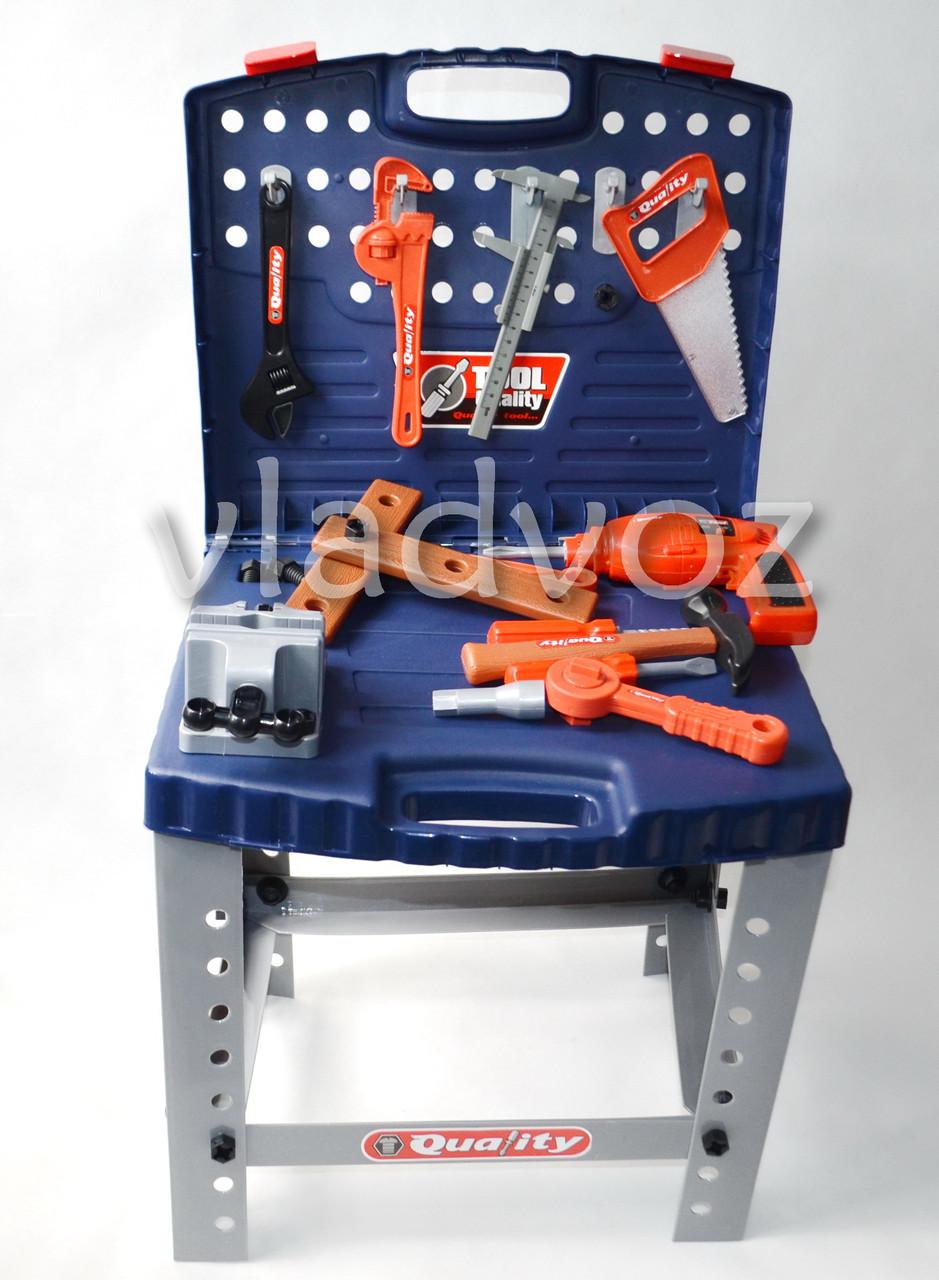Детские инструменты набор чемодан Quality в коробке - интернет-магазин vladvozsklad мтс 0666993749, киевстар 0681044912, лайф 0932504050 в Николаевской области