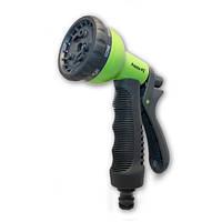 Пистолет для полива green 8 режимов (PS-7202G)