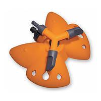 Вращающийся тройной дождеватель 'Бабочка' orange (PS-8107)