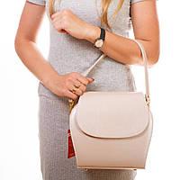 Перламутровая сумка 1368pudra с ручкой цвет пудра