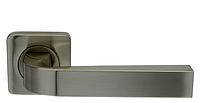 Ручка дверная на розетке Armadillo Kea пепельный никель (Китай)