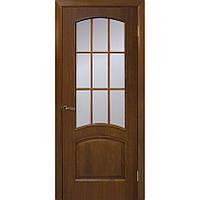 Двери Капри ПО без стекла орех