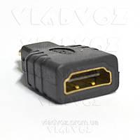 Переходник Micro HDMI (D) папа - HDMI (A) мама